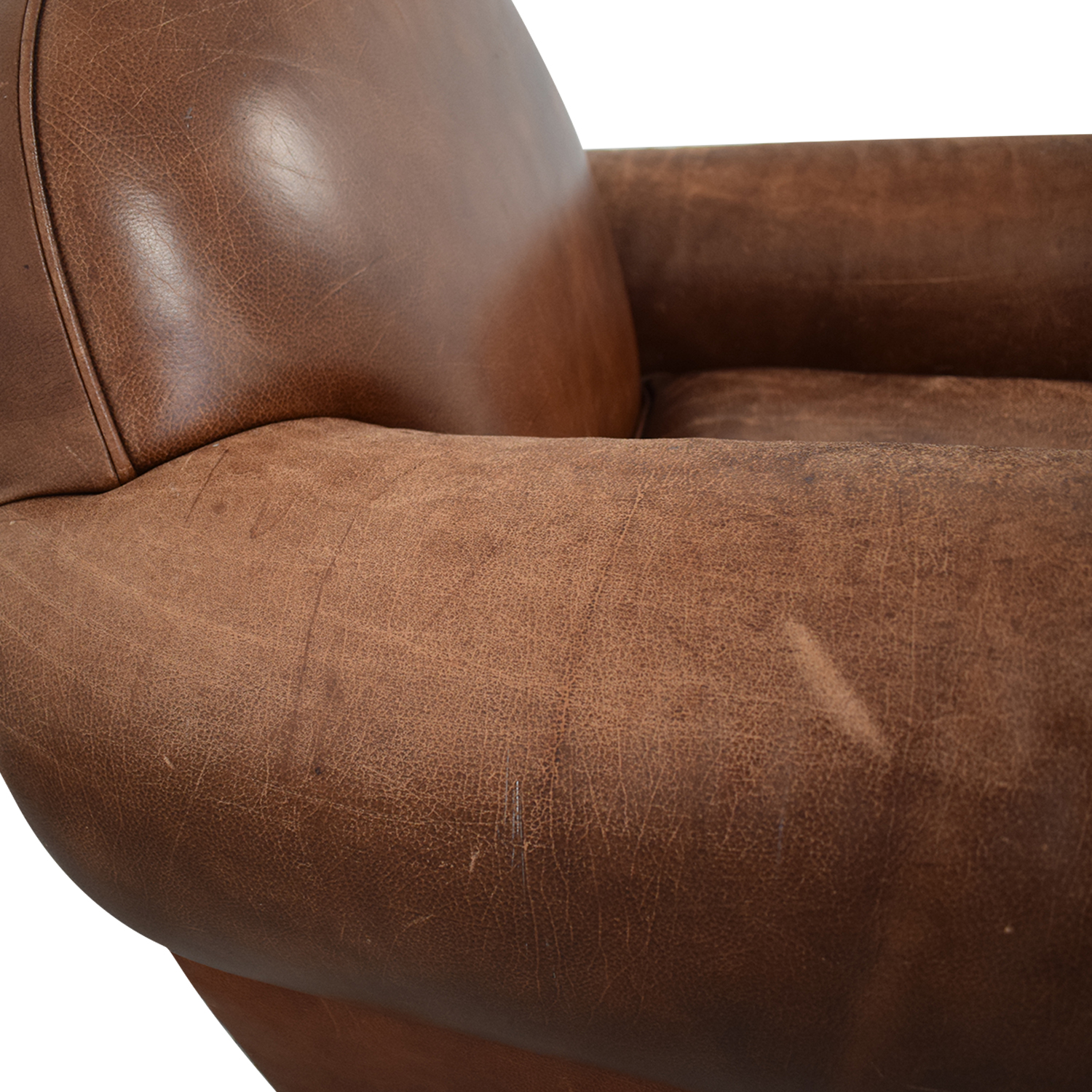 Leather Club Chair Accent Chairs