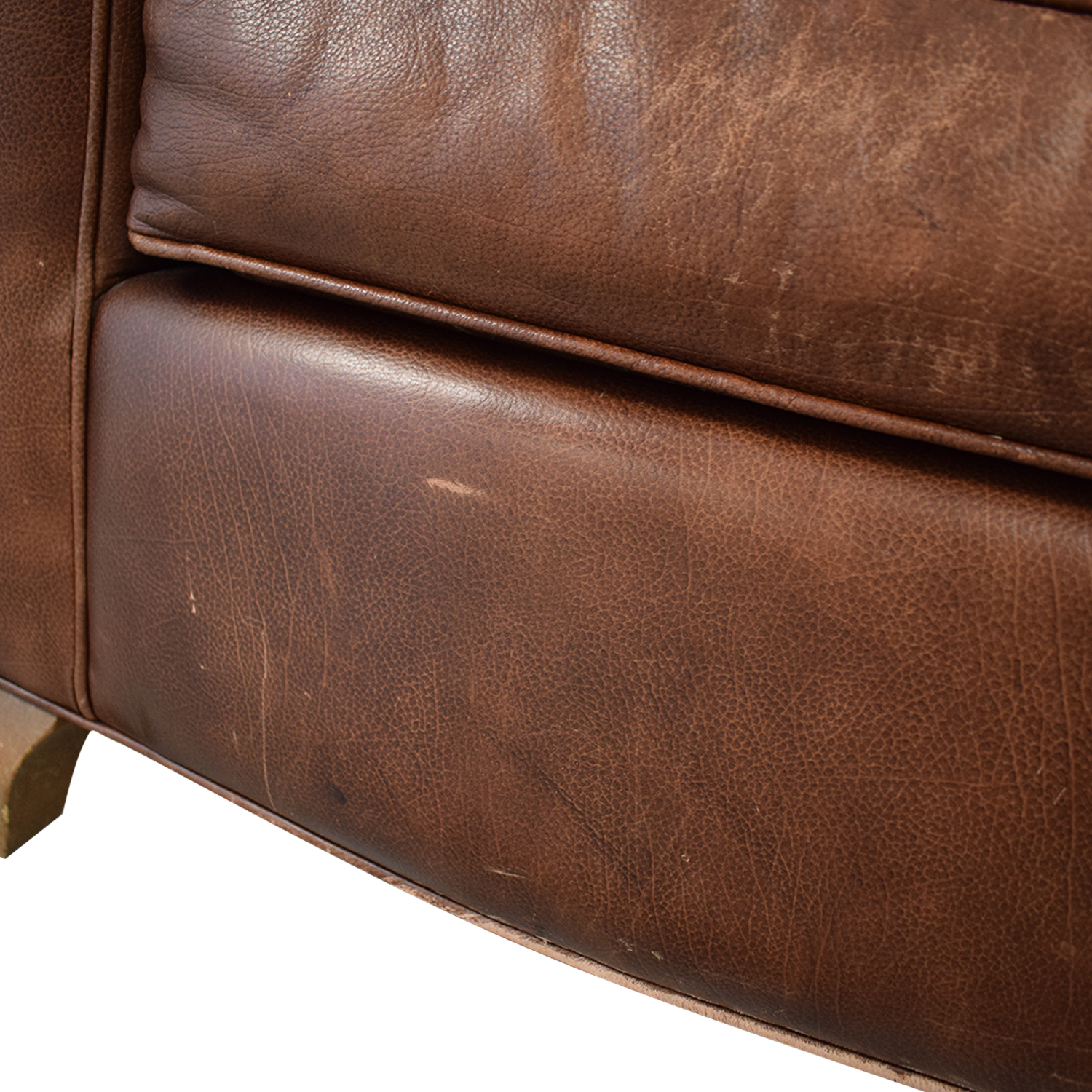 Leather Club Chair second hand