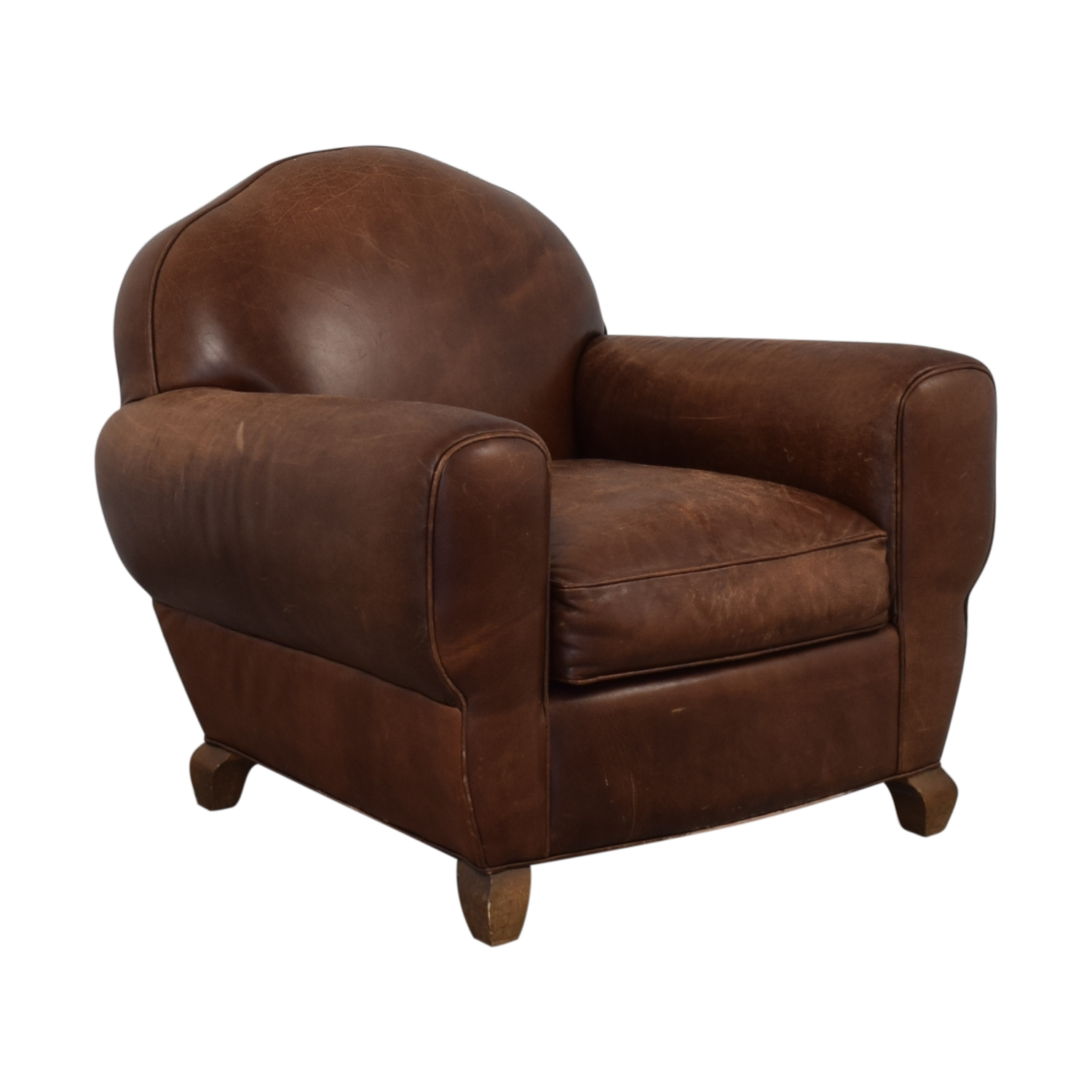 shop Leather Club Chair  Chairs