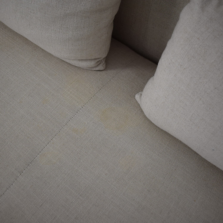 Sunpan Sunpan '5West' Malibu Linen Fabric Upholstered Loveseat Loveseats