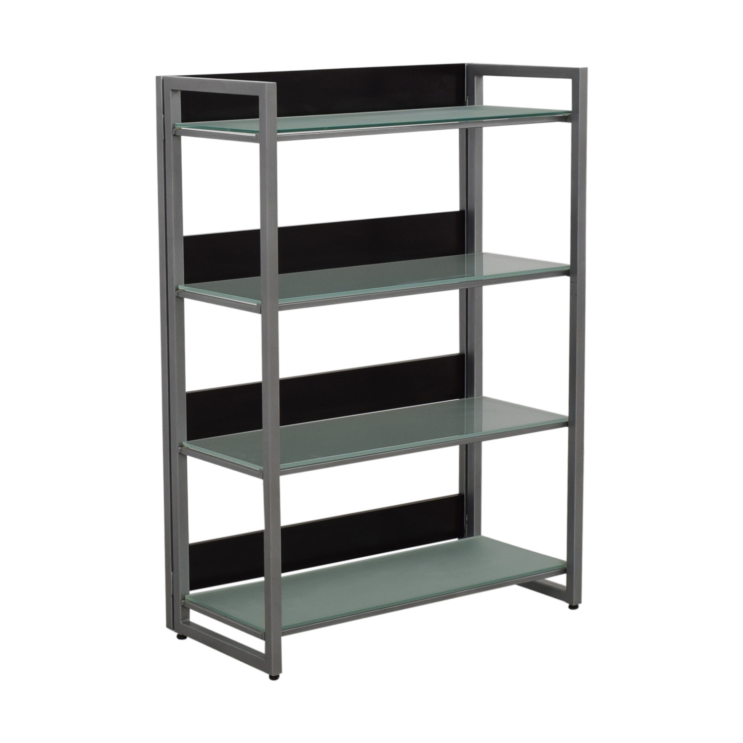 buy Jensen-Lewis Glass Bookcase Jensen-Lewis Bookcases & Shelving