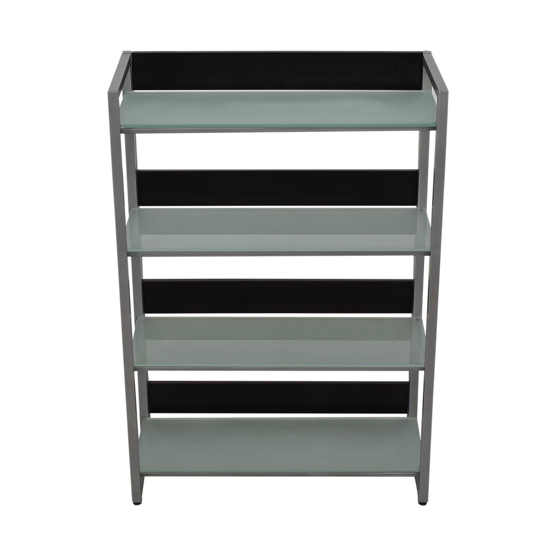 Jensen-Lewis Jensen-Lewis Glass Bookcase nyc