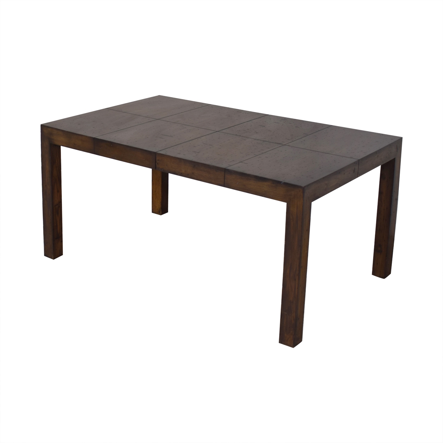 shop Old Dominion Wood Corporation Butcher Block Dining Table  Dinner Tables