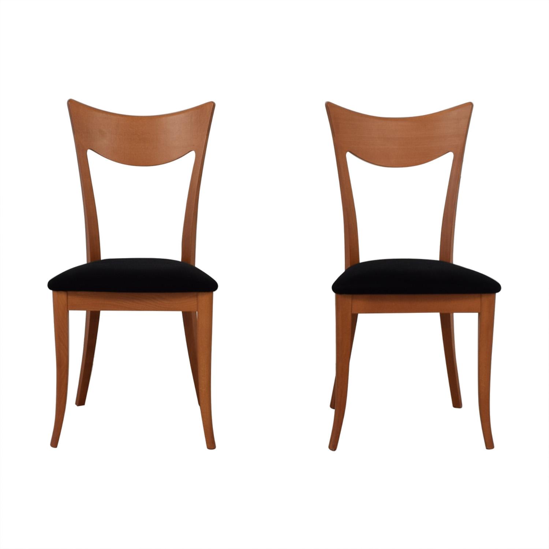 SA A. Sibau SA A. Sibau Cherry Velvet Modern Chairs