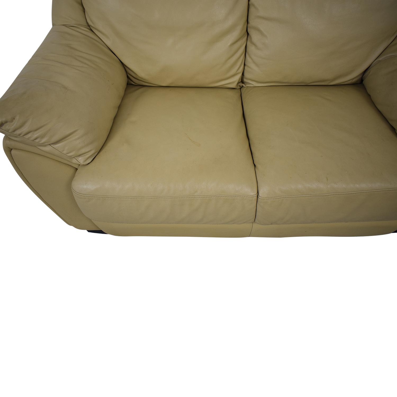 DeCoro DeCoro Leather Love Seat used