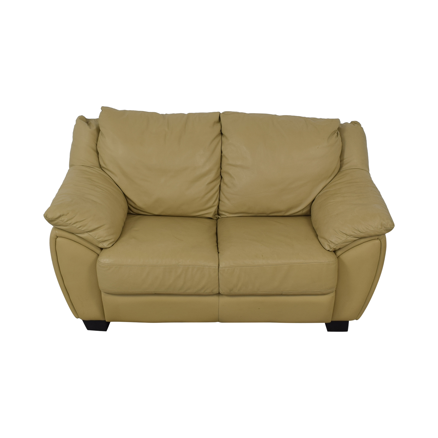 DeCoro DeCoro Leather Love Seat dimensions
