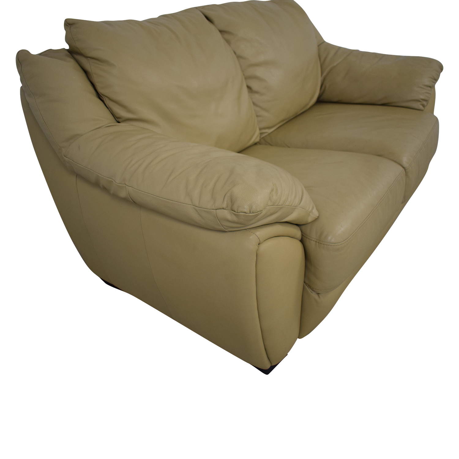DeCoro DeCoro Leather Love Seat discount