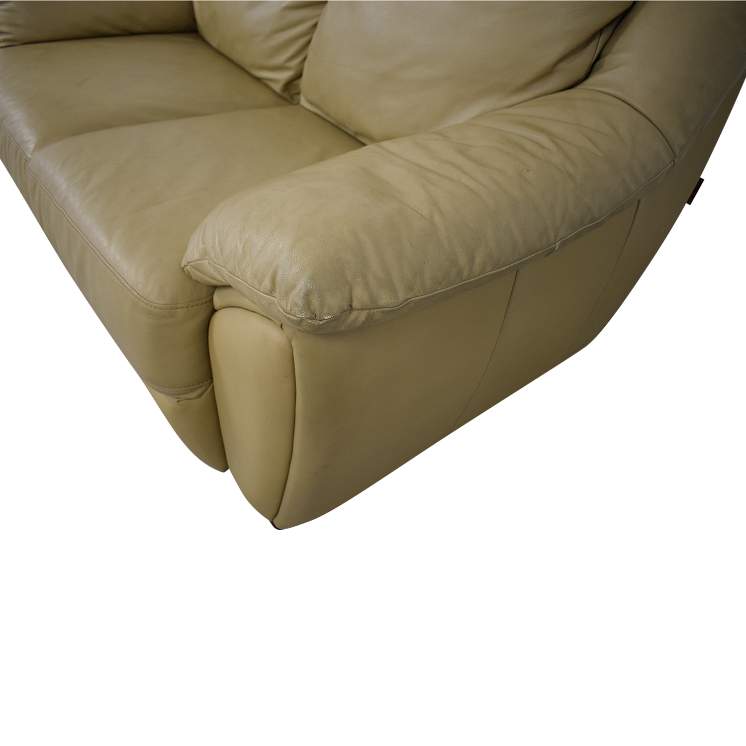 shop DeCoro Leather Love Seat DeCoro Loveseats