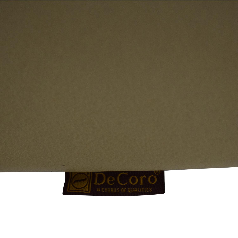 shop DeCoro DeCoro Leather Love Seat online