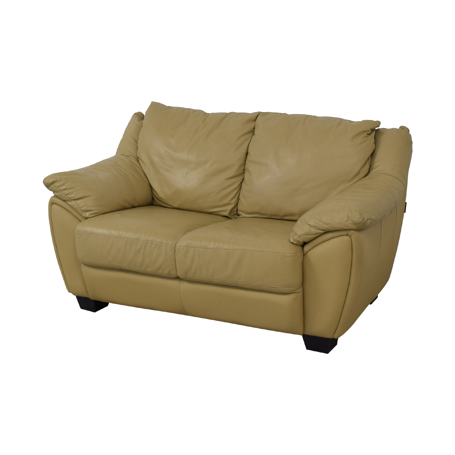 shop DeCoro Leather Love Seat DeCoro Sofas