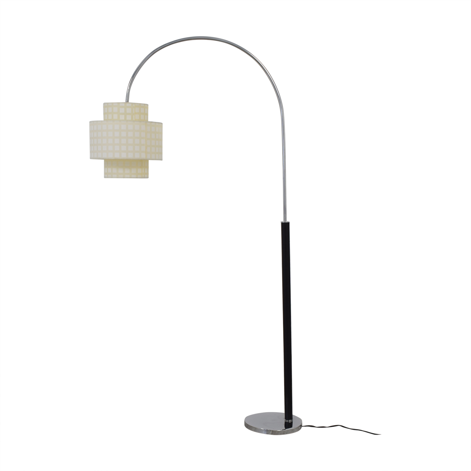 shop Standing Floor Lamp with Two Section Shade  Lamps