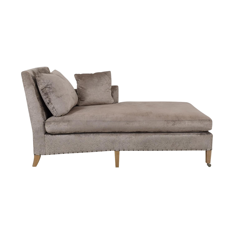84% OFF - Verellen Verrellen Chaise Lounge / Sofas