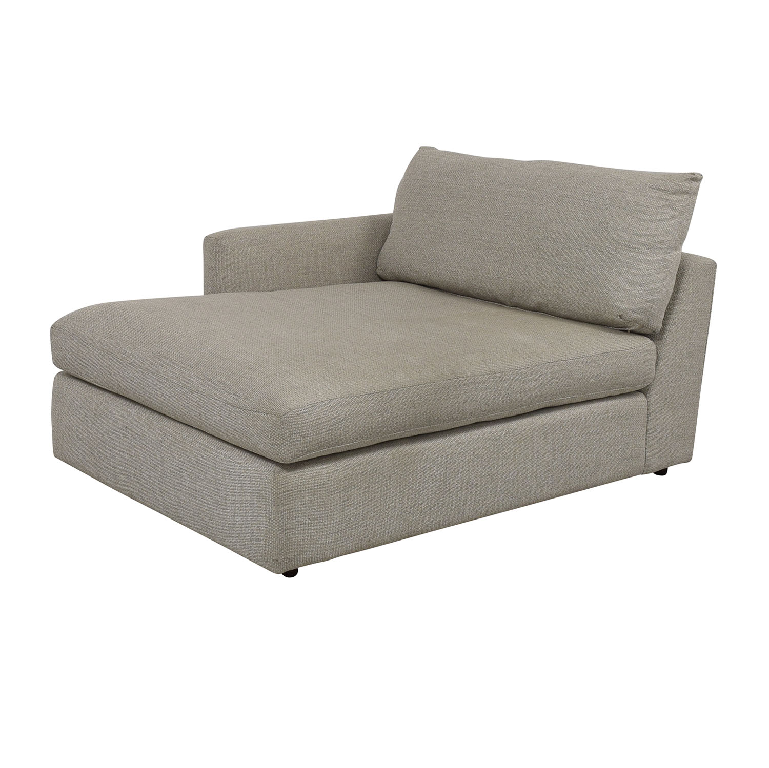 Crate & Barrel Lounge II Left Arm Chaise Crate & Barrel