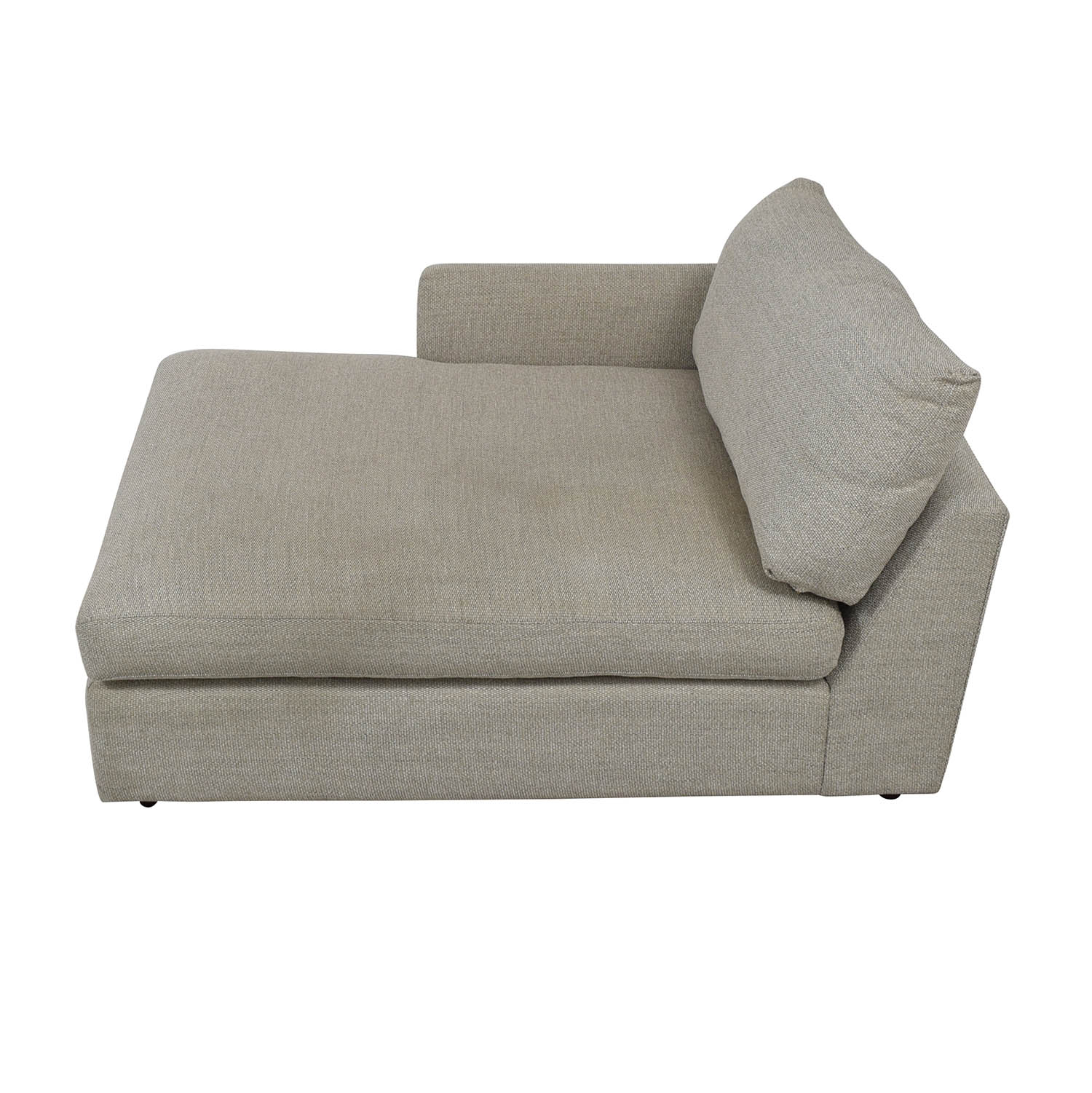 shop Crate & Barrel Lounge II Left Arm Chaise Crate & Barrel Chaises