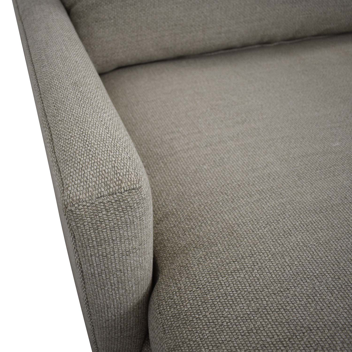 Crate & Barrel Crate & Barrel Lounge II Left Arm Chaise for sale