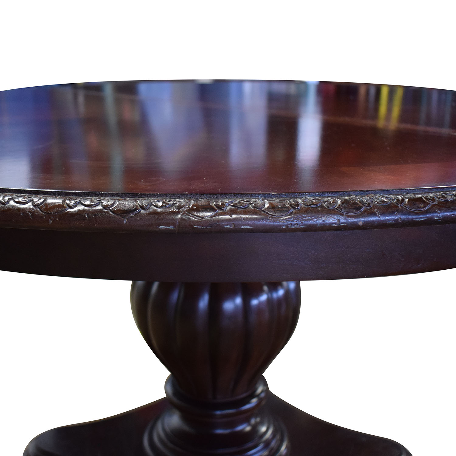 87 Off Bernhardt Bernhardt Embassy Row Cherry Carved Wood Dining Table Tables