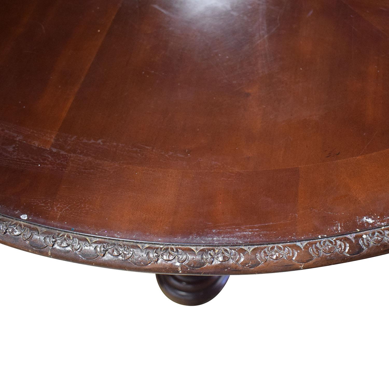 Bernhardt Bernhardt Embassy Row Cherry Carved Wood Dining Table