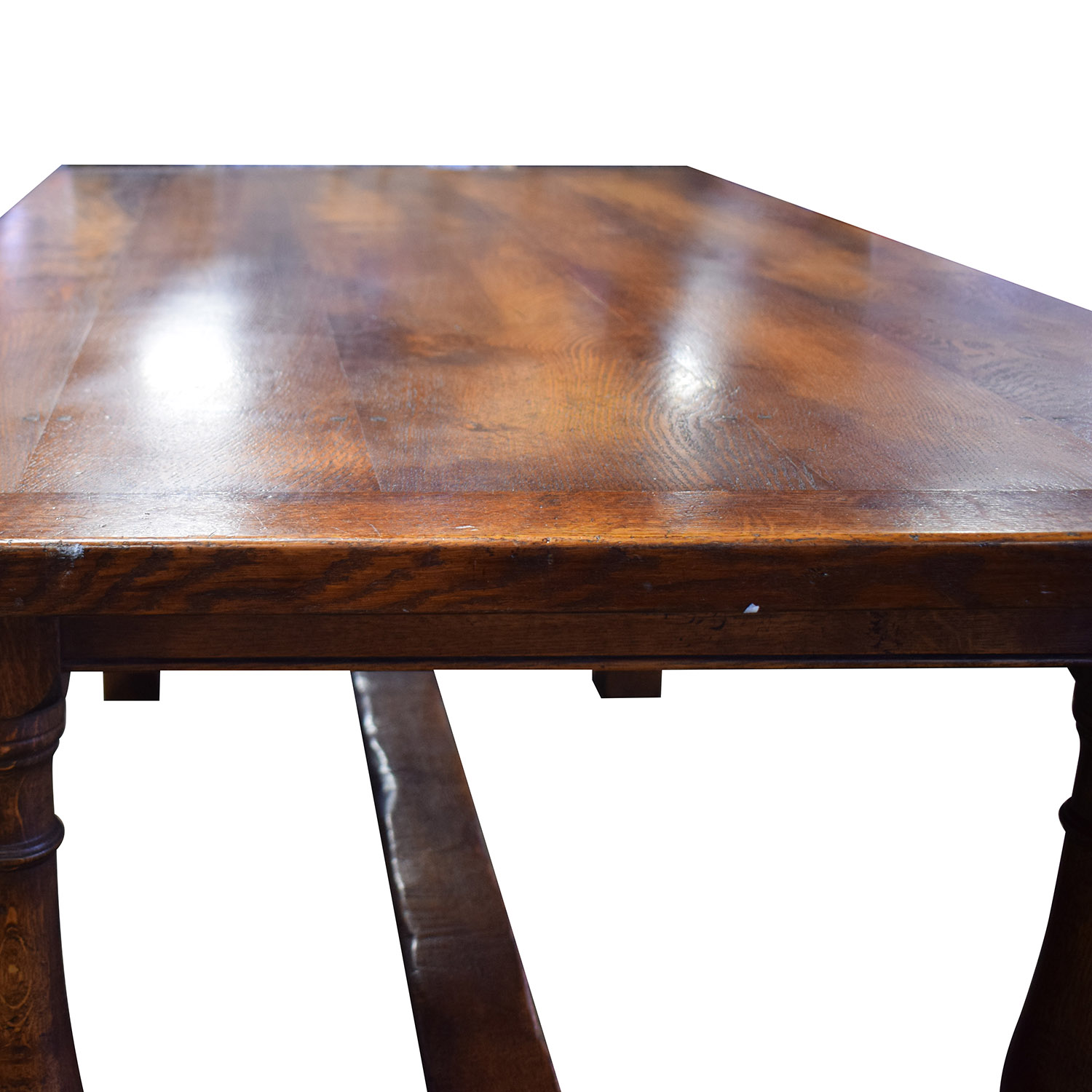 Fauld Fauld Refectory Wood Dining Table used