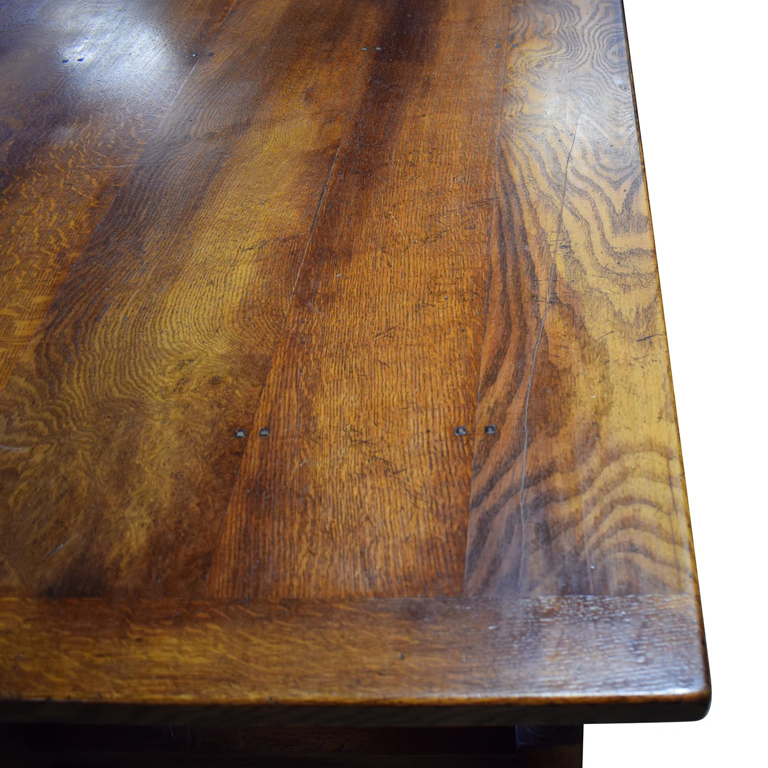 Fauld Fauld Refectory Wood Dining Table brown
