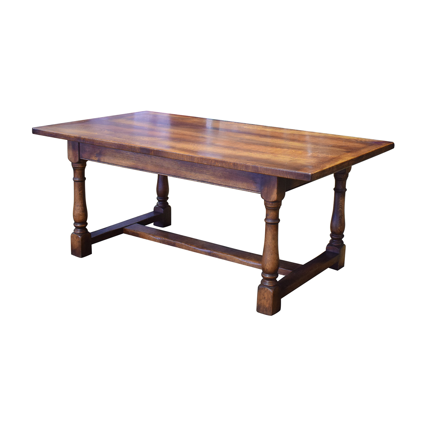 Fauld Refectory Wood Dining Table Fauld