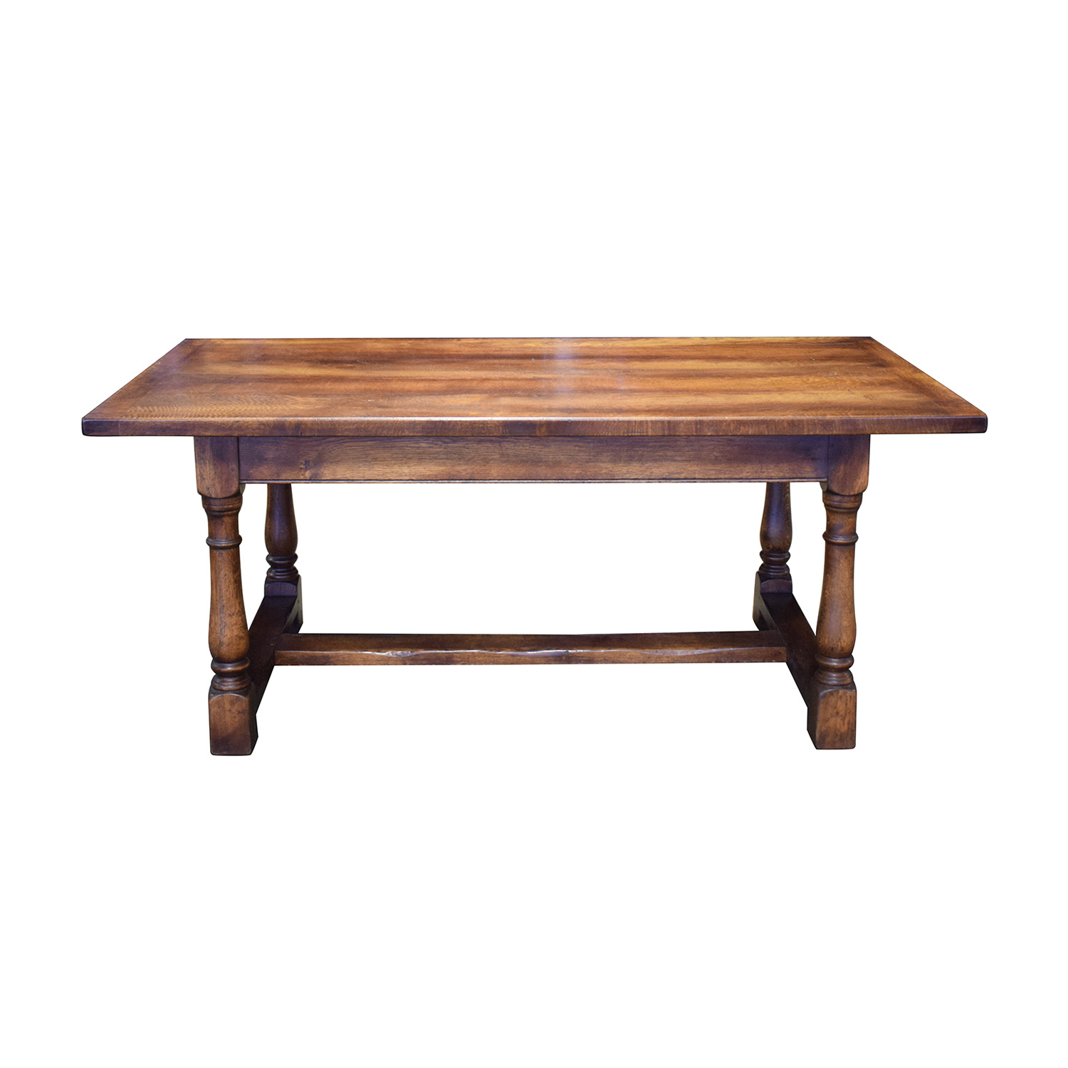 shop Fauld Refectory Wood Dining Table Fauld