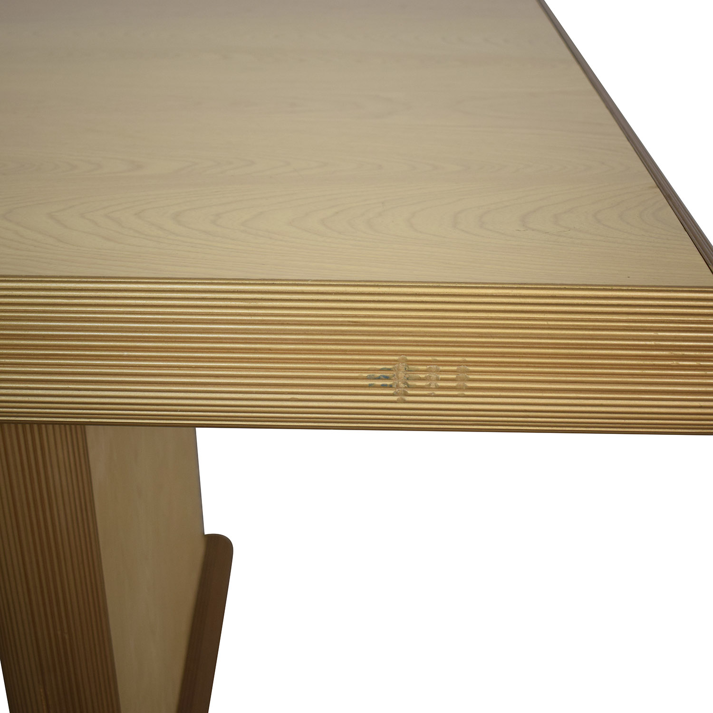 Custom Dining Table used