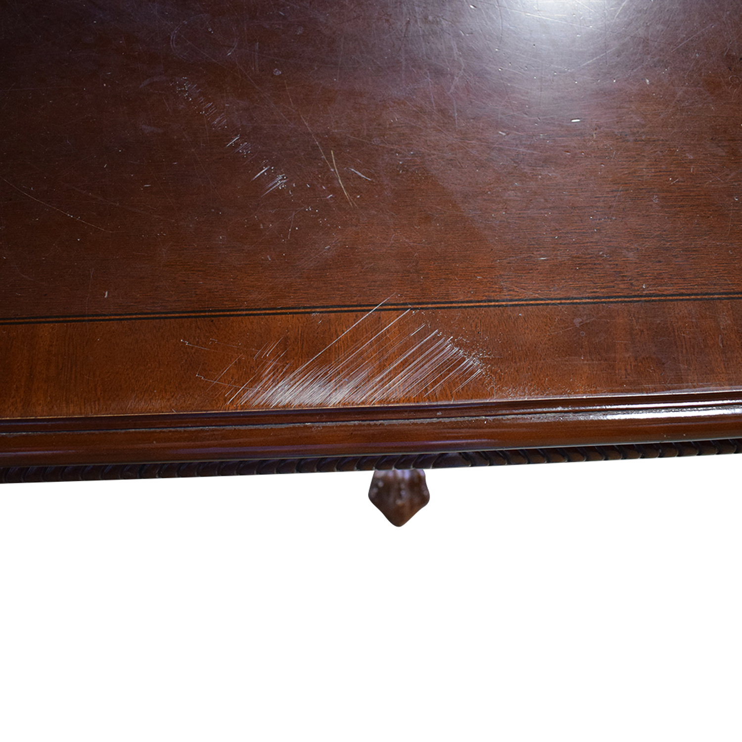 buy Carved Wood Dining Table with Two Extensions  Tables