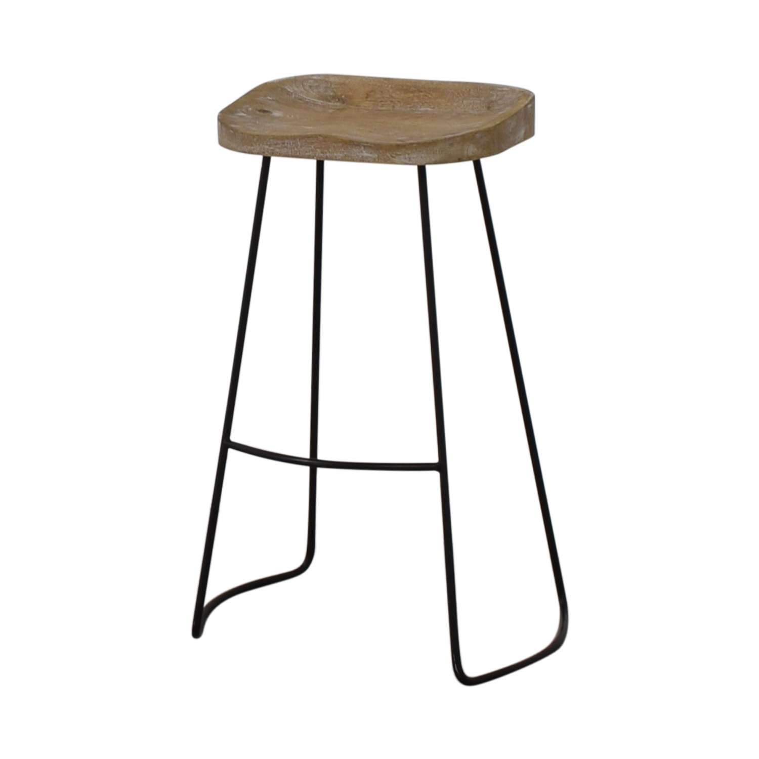 shop Backless Stool