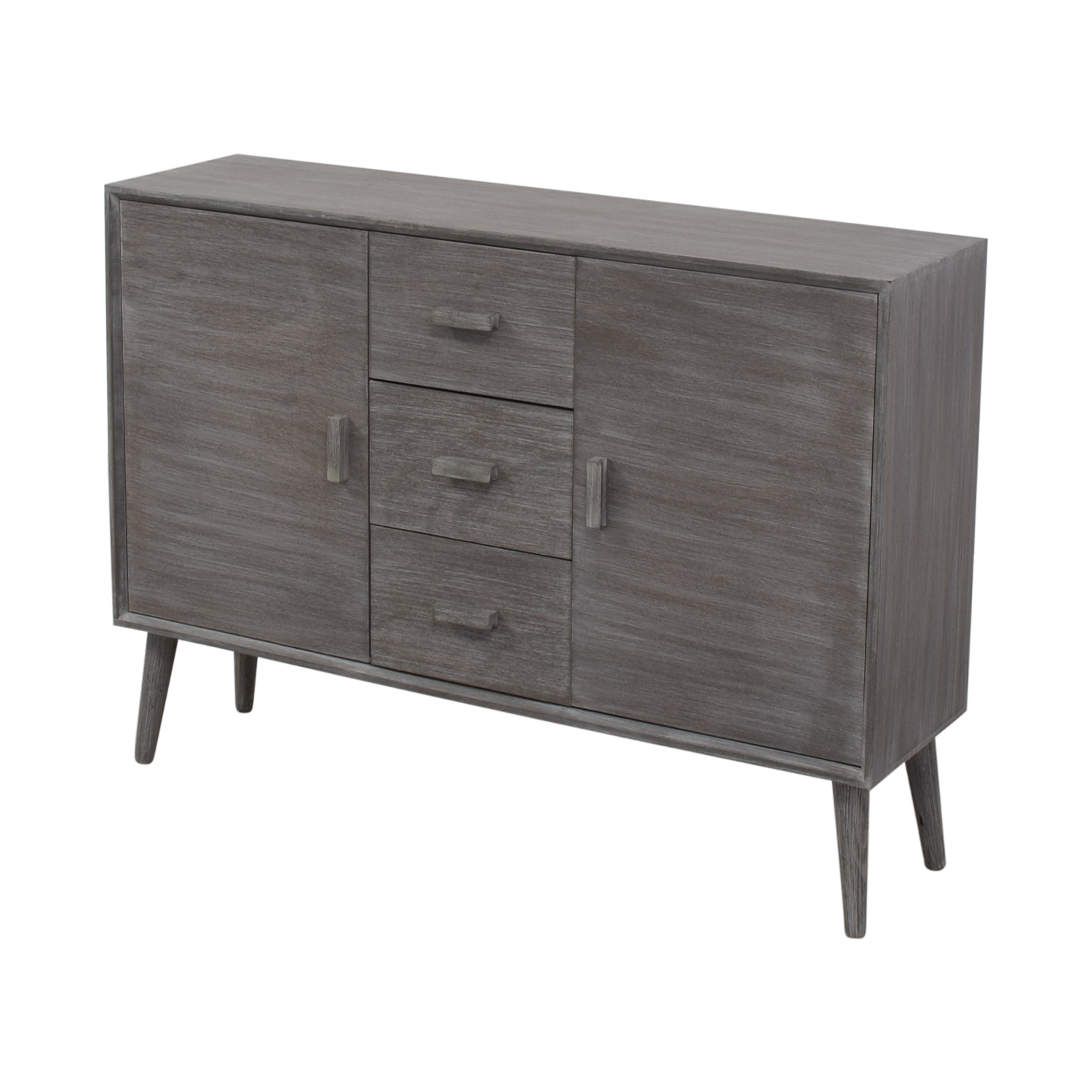 buy  Grey Cabinet with Three Drawers online