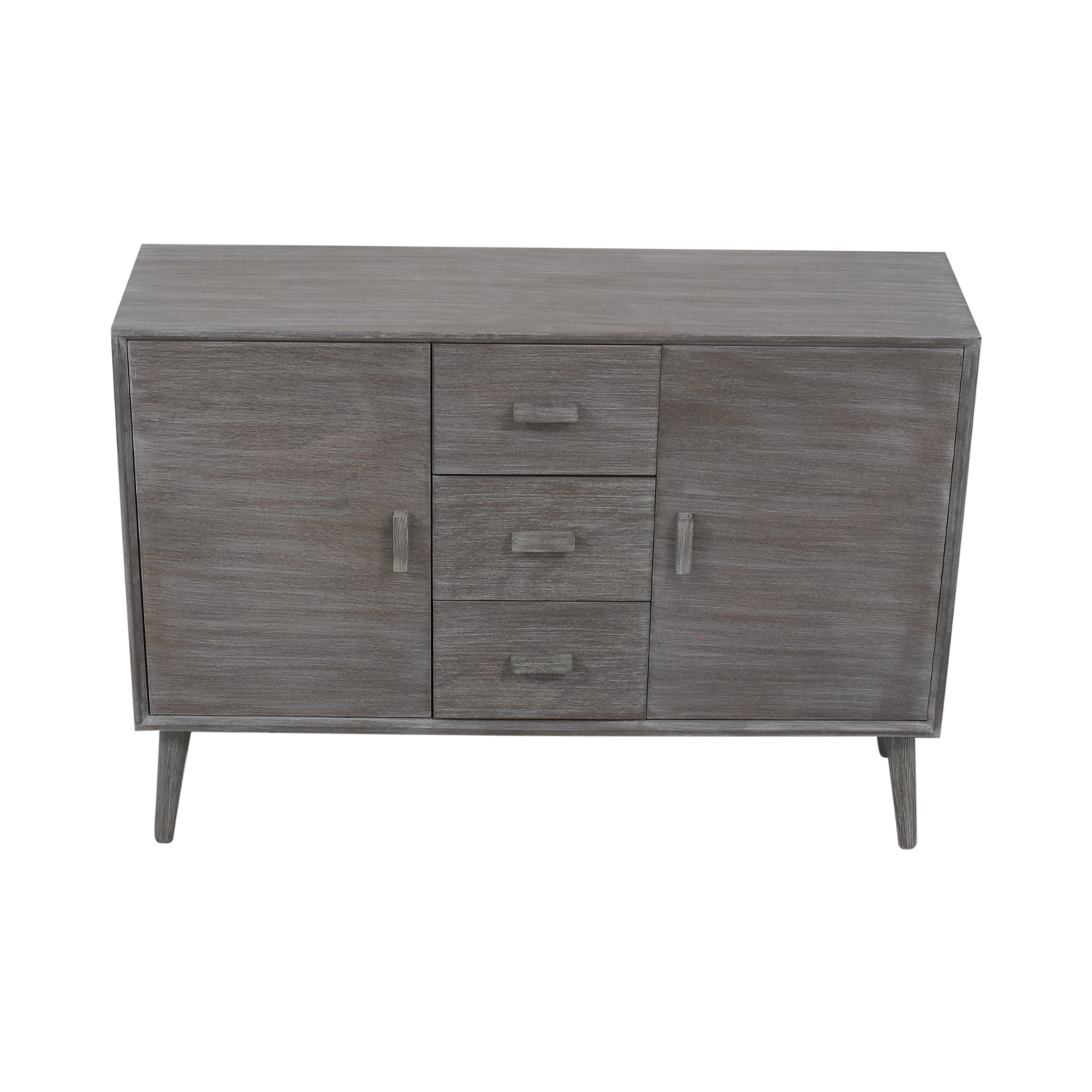 Grey Cabinet with Three Drawers Cabinets & Sideboards