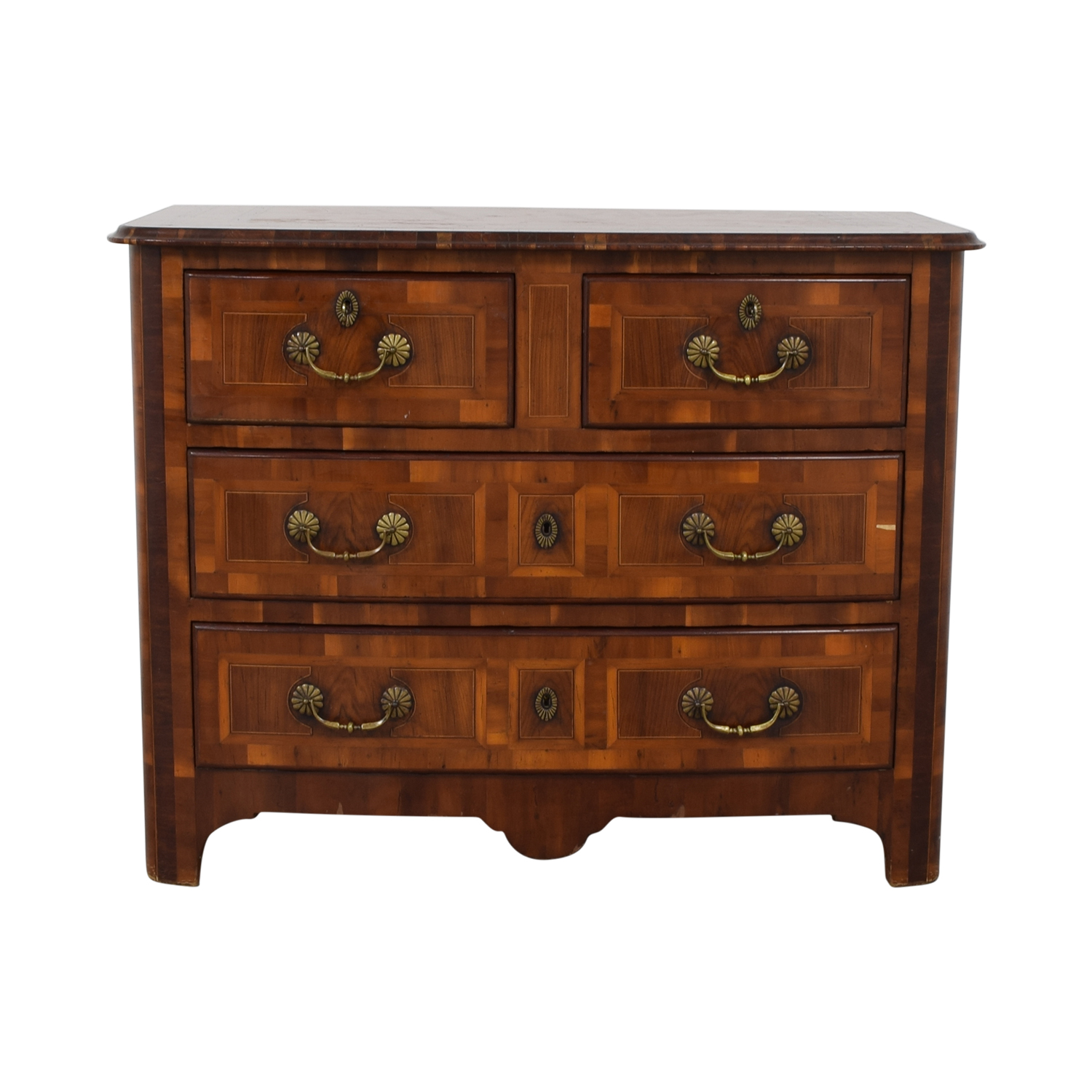 Lillian August Lillian August Wooden Dresser Brown
