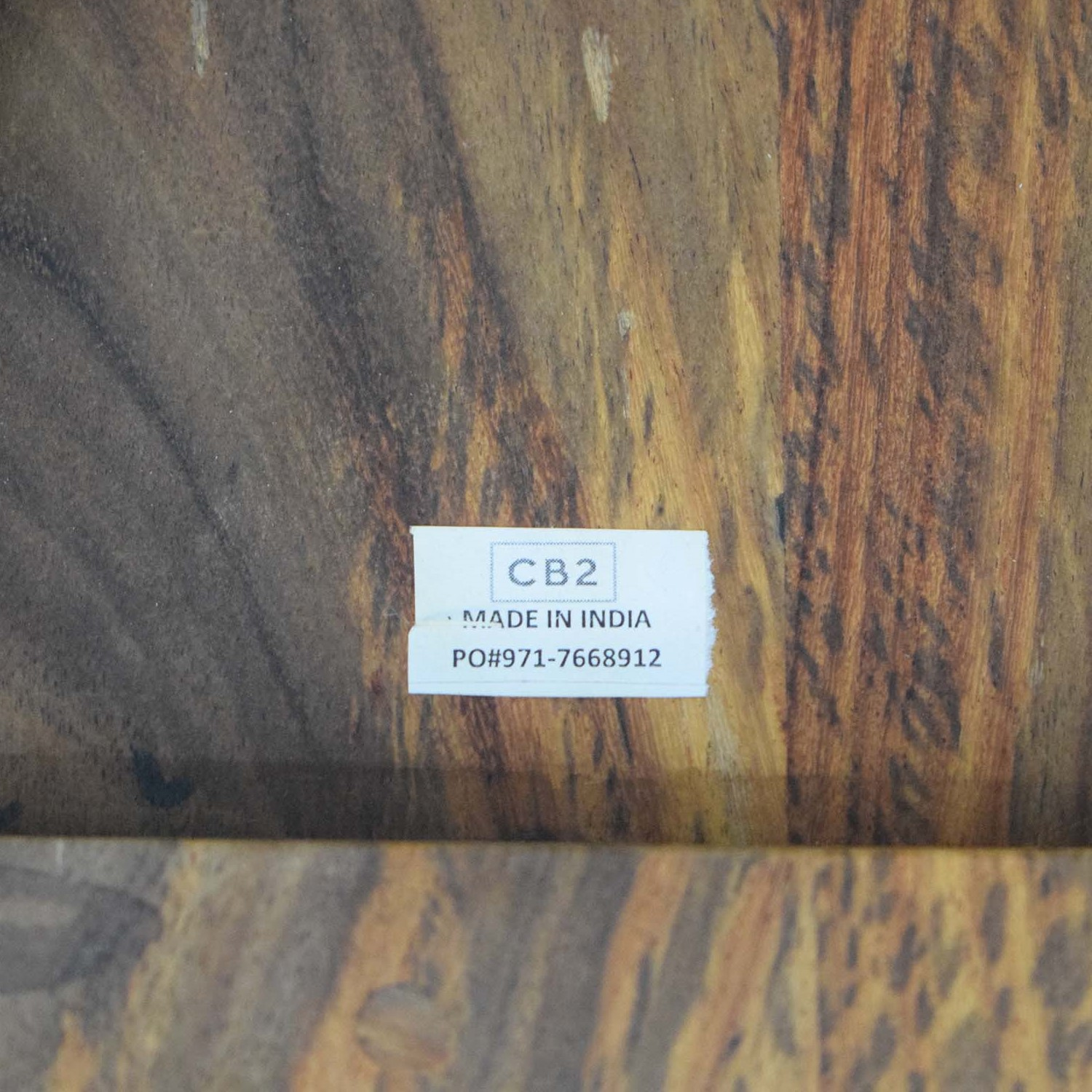 CB2  Wood and Green Bench / Benches