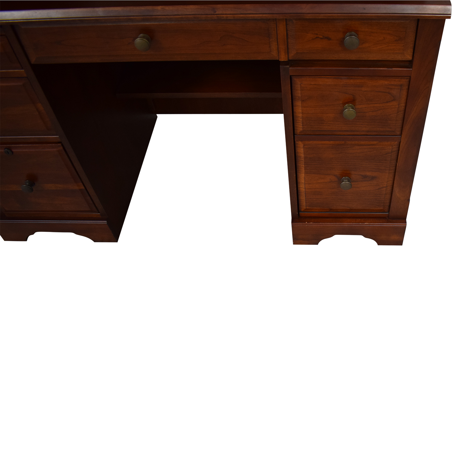 buy Wood Desk with Hutch