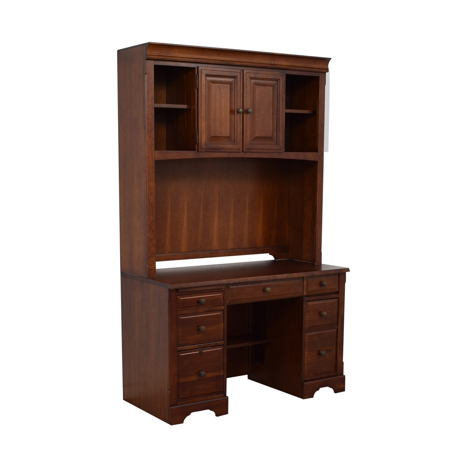 Wood Desk with Hutch coupon