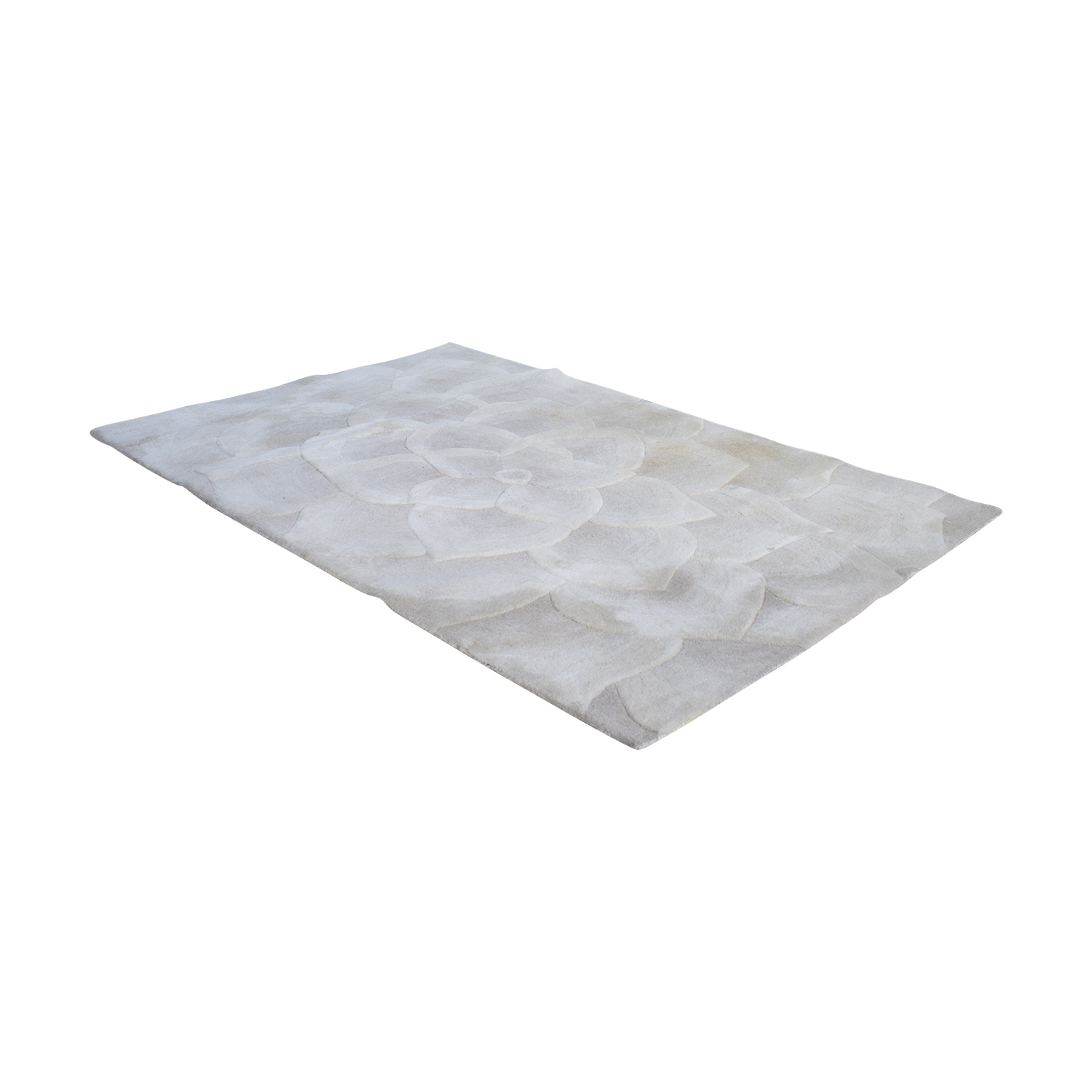 Pier 1 Pier 1 Rose Tufted Area Rug discount