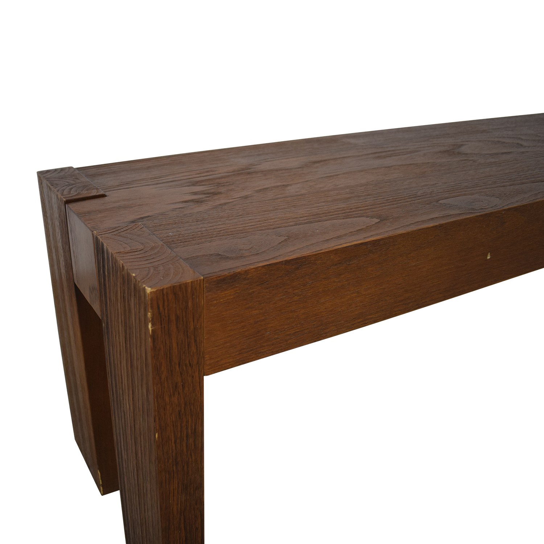 Strange 65 Off West Elm West Elm Wood Bench Chairs Cjindustries Chair Design For Home Cjindustriesco