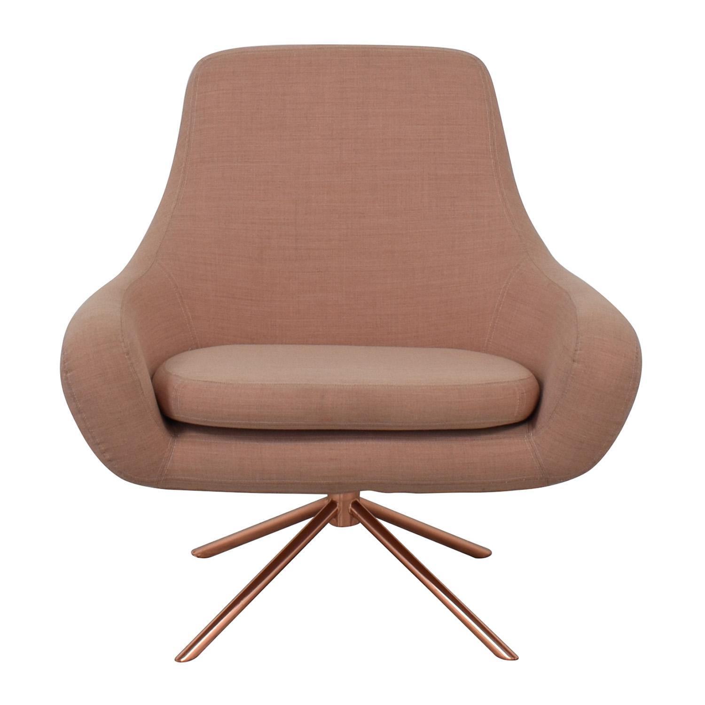68 Off Softline Softline Noomi Swivel Lounge Chair Chairs