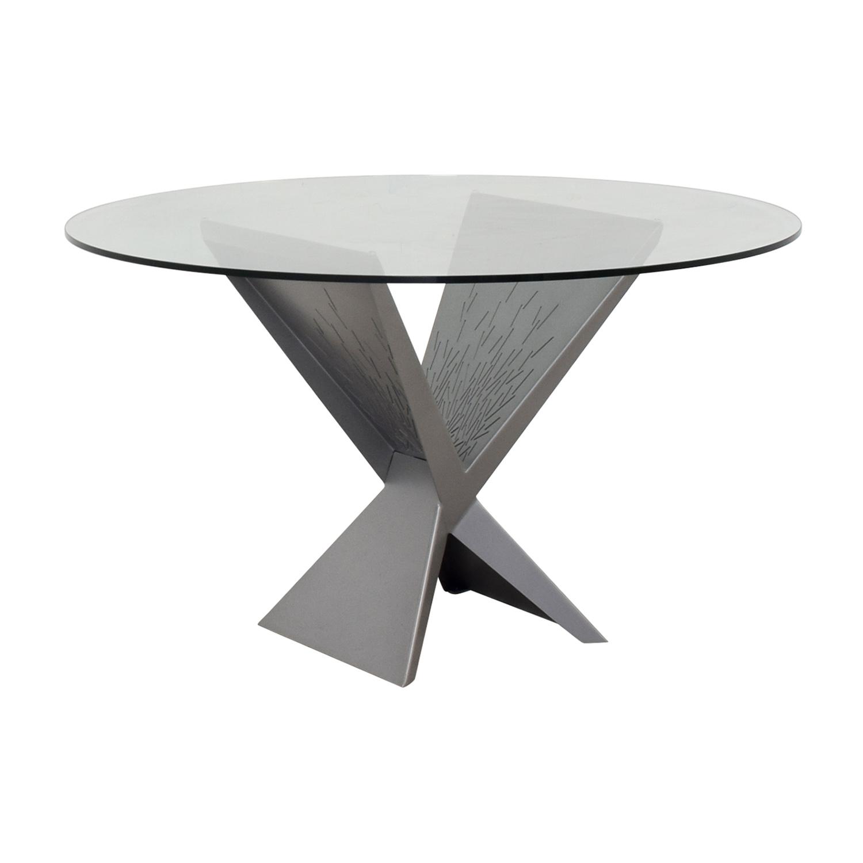 shop Elite Modern Atlas Round Dining Table Elite Modern