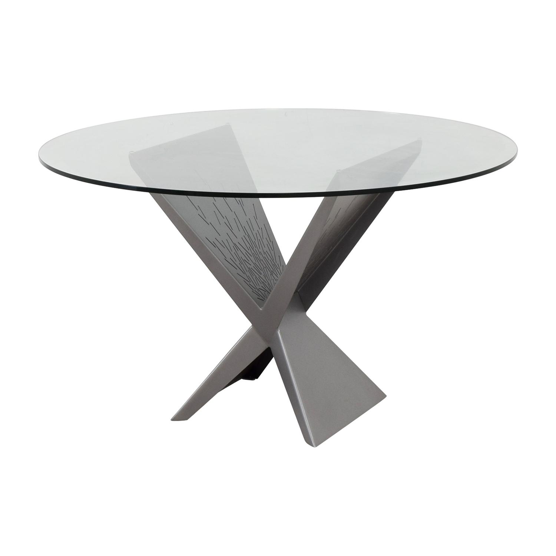 Elite Modern Elite Modern Atlas Round Dining Table dimensions
