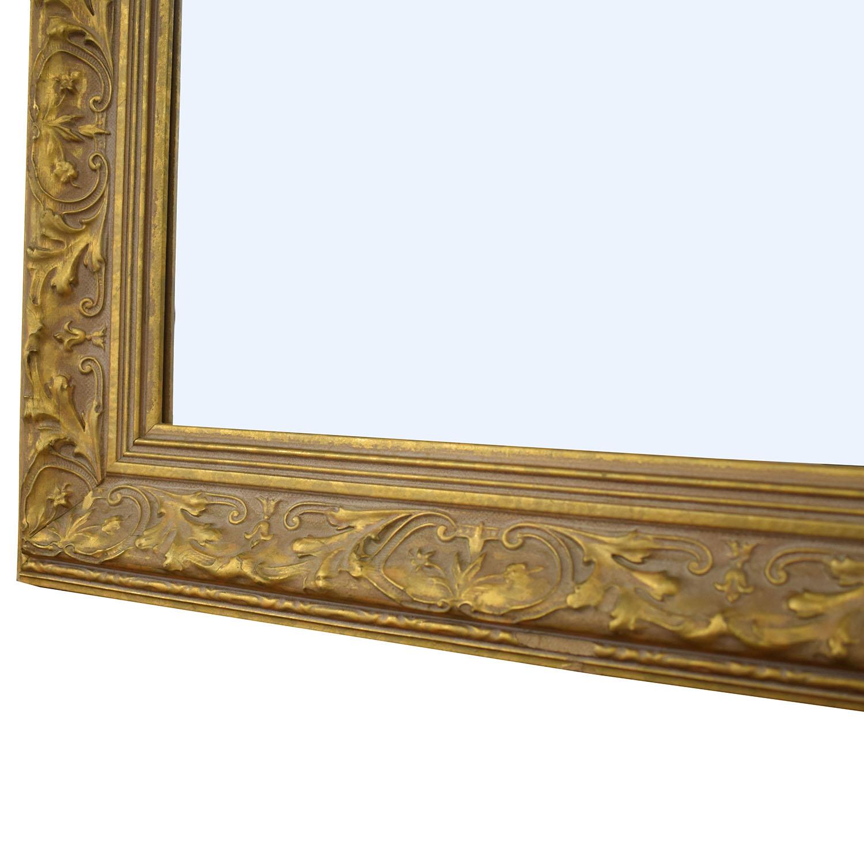 Randomlane Randomlane Gold Bevel Mirror Mirrors