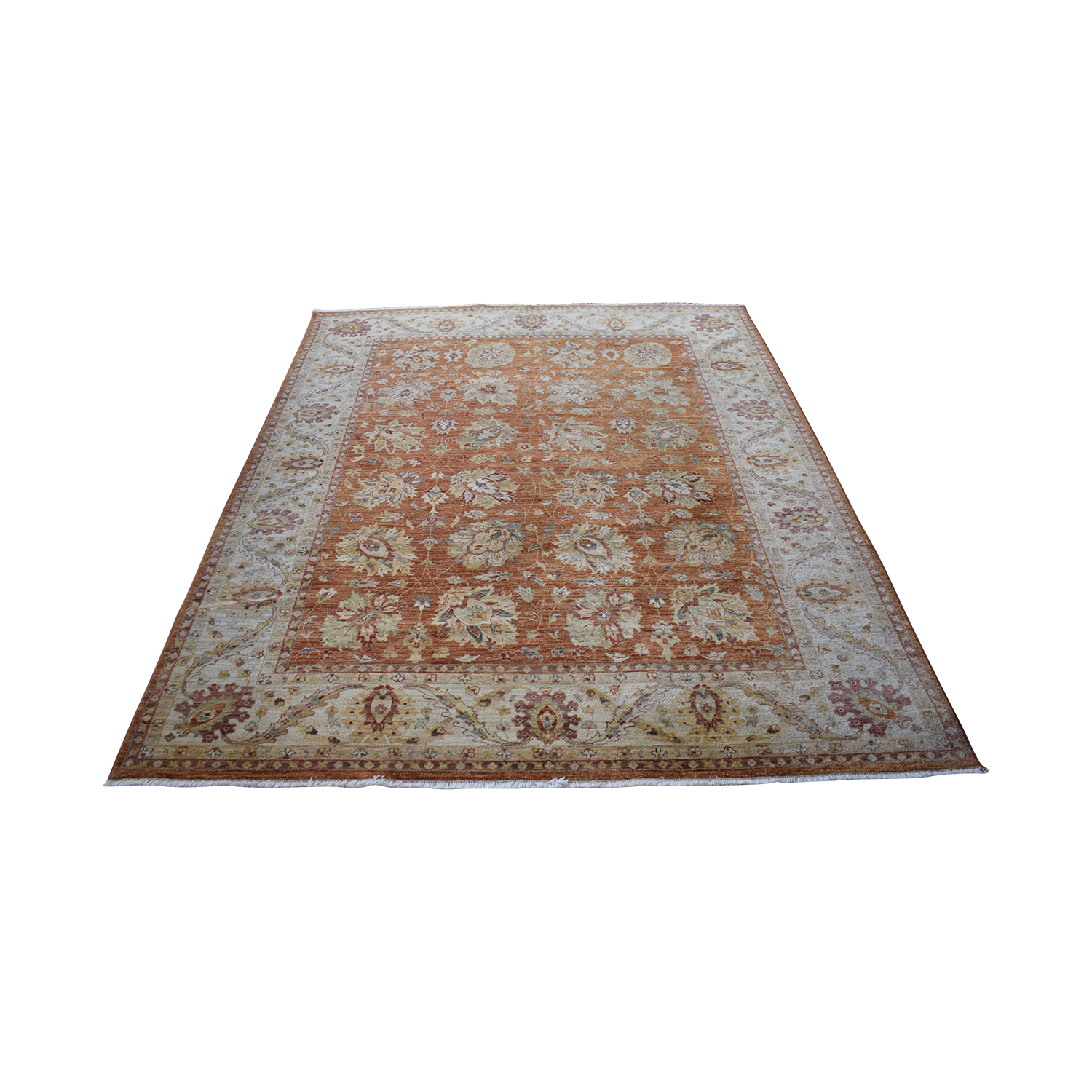 Macy's Hand Knotted Wool Area Rug sale