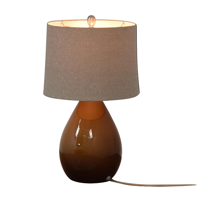 Crate & Barrel Table Lamp Crate & Barrel
