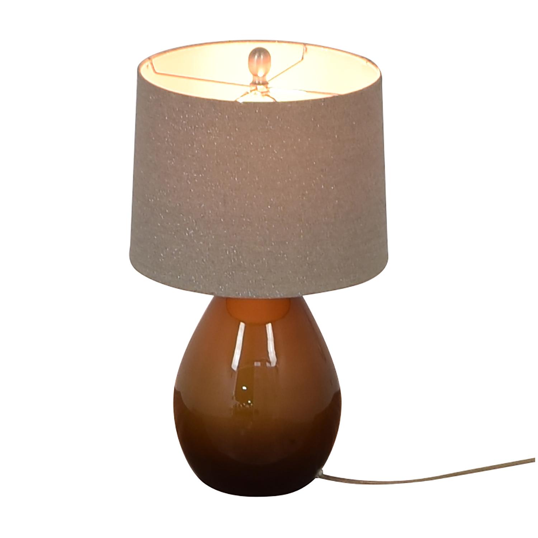 shop Crate & Barrel Table Lamp Crate & Barrel