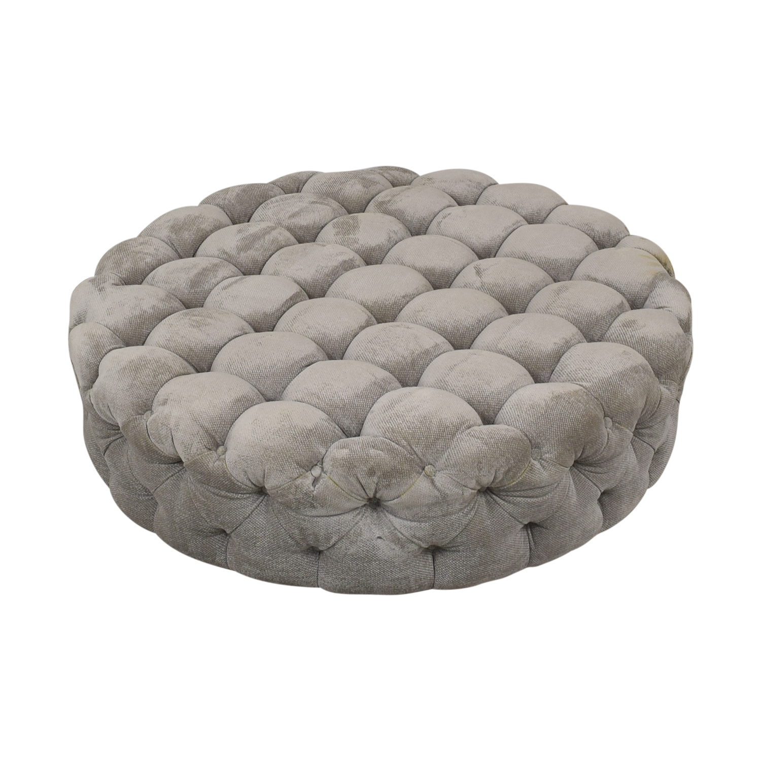 Round Tufted Ottoman or Coffee Table dimensions