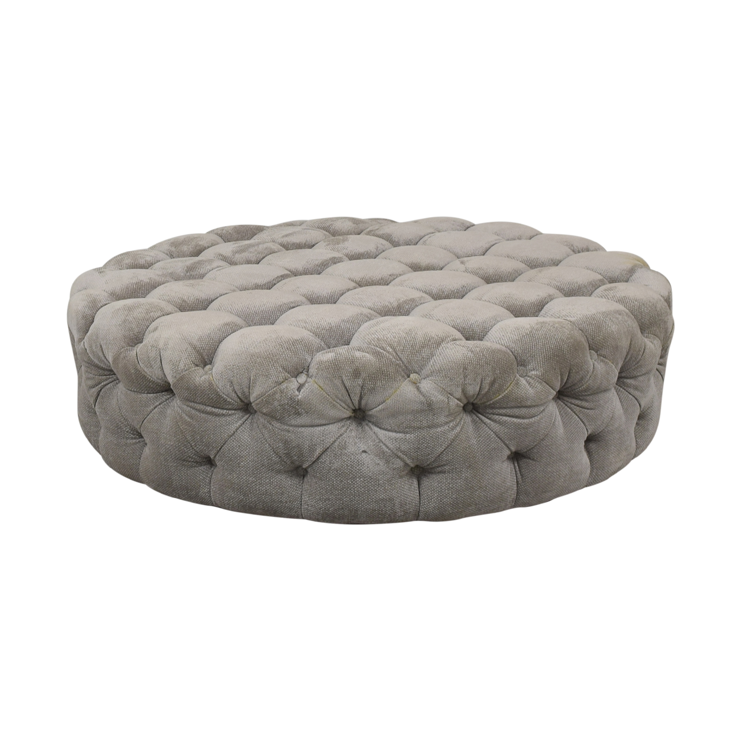 Round Tufted Ottoman or Coffee Table coupon