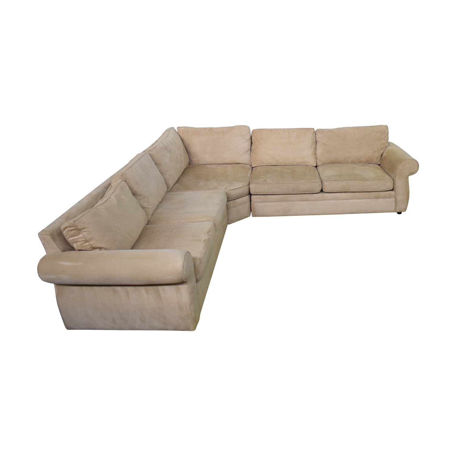 shop Pottery Barn Pottery Barn Three Piece Sectional online
