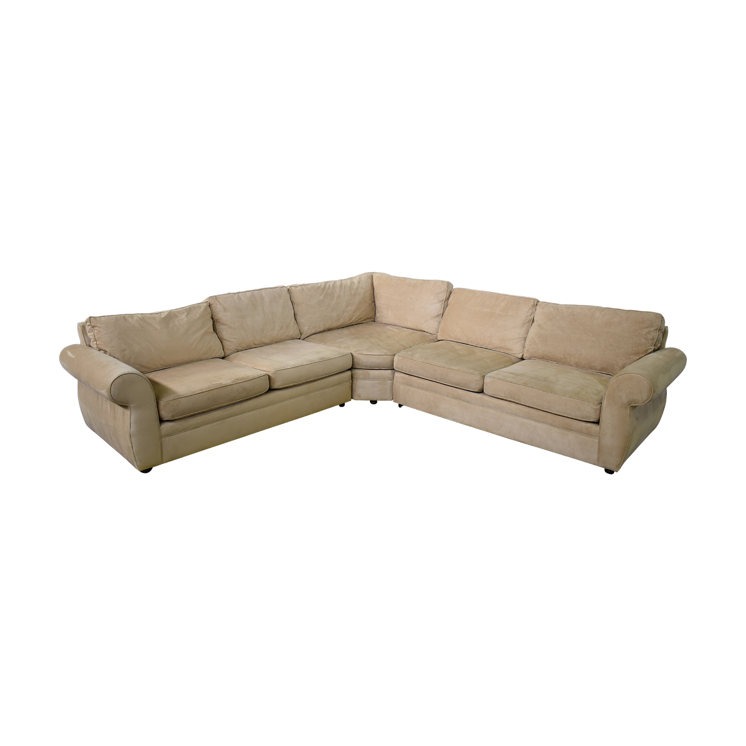Pottery Barn Pottery Barn Three Piece Sectional second hand