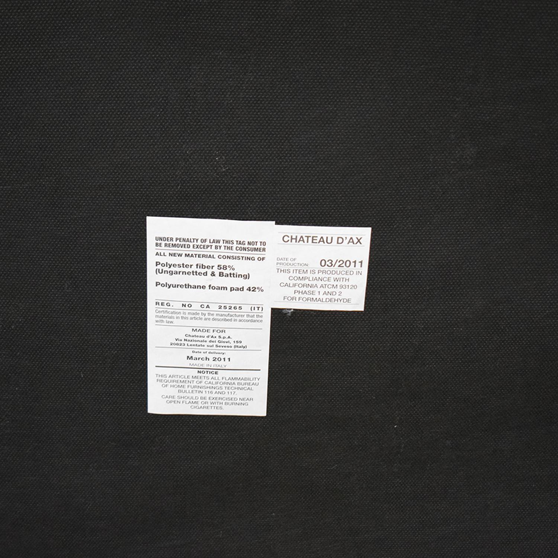 Bloomingdale's Bloomingdale's Gray Leather Sofa nj