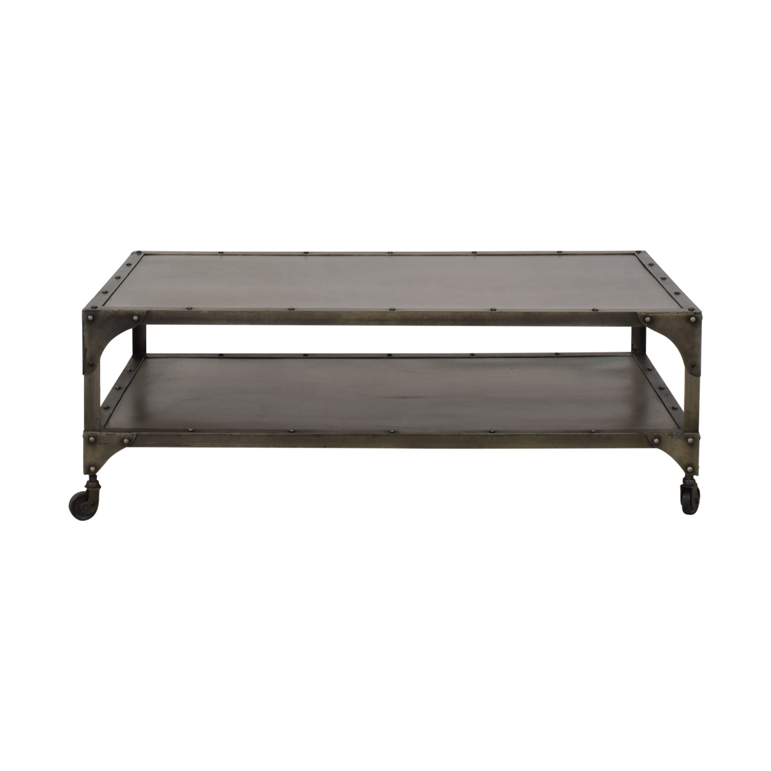 West Elm Antique Finish Coffee Table West Elm