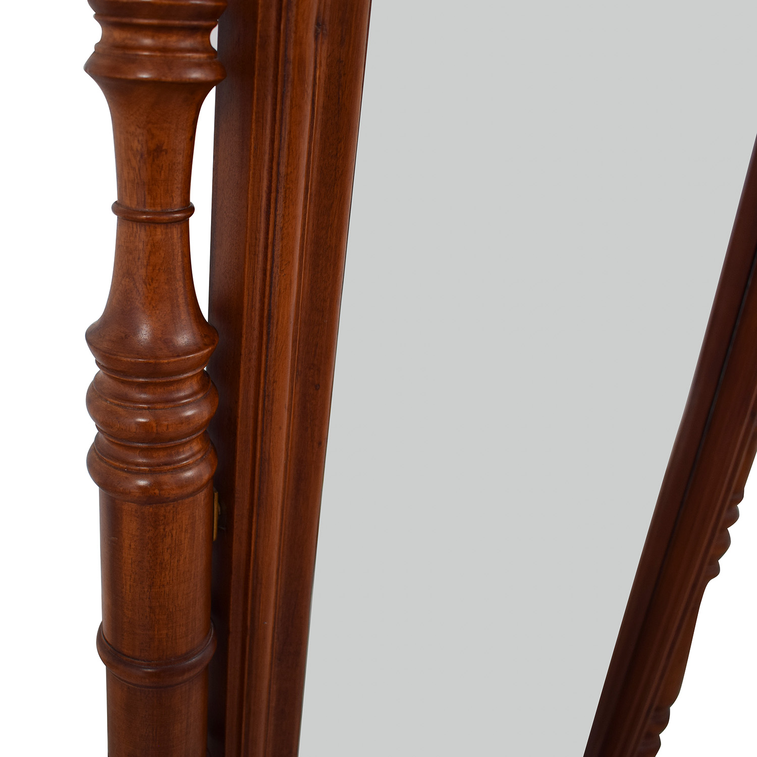 buy  Carved Wooden Standing Mirror online